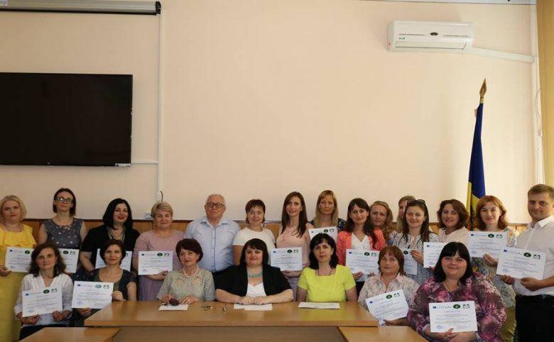 Finalizarea cursurilor de formare profesională continuă pentru primul grup de cadredidactice USARB în cadrul proiectului TEACH ME